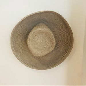 ERIC JAVITS Straw packable sun hat